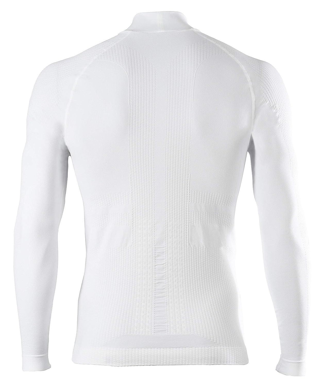 FALKE Mens Impulse Ski Long Sleeve Shirt White