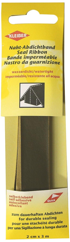 ... de costuras de tela, impermeable, autoadhesiva, para tiendas de campaña, abrigos, paraguas, etcétera, 3 m x 2 cm, color aceituna: Amazon.es: Hogar