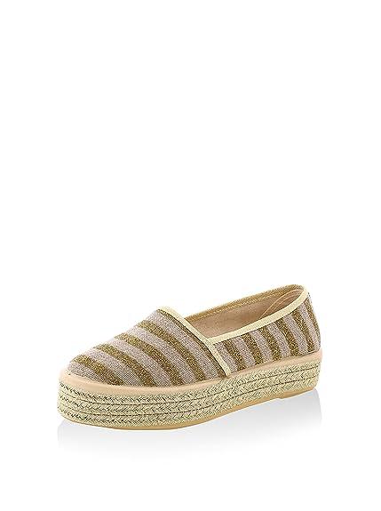Sixtyseven Alpargatas Yute Dorado EU 37: Amazon.es: Zapatos y complementos