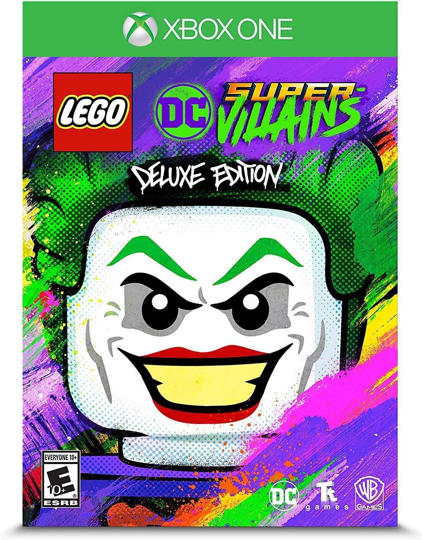 Amazon.com: LEGO DC Super-Villains Deluxe Edition - Xbox One ...