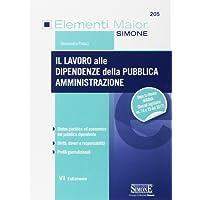 Il lavoro alle dipendenze della pubblica amministrazione