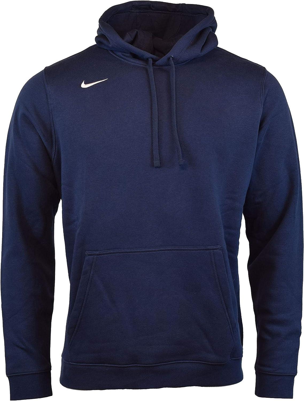 Nike Men's Pullover Fleece Club Hoodie: Clothing