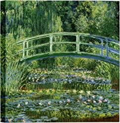 c878e1e98e0 Eliteart-The Water Lily Pond (A) by Claude Monet Oil Painting Reproduction  Giclee