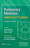 The Washington Manual Pulmonary Medicine Subspecialty Consult (The Washington Manual® Subspecialty Consult Series)