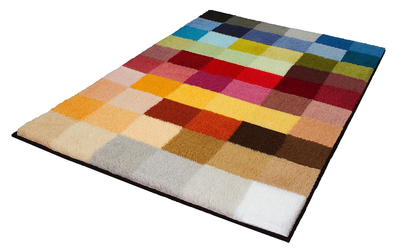 Kleine Wolke 8821148449 Cubetto Badteppich Polyacryl, mehrfarbig, 75 ...