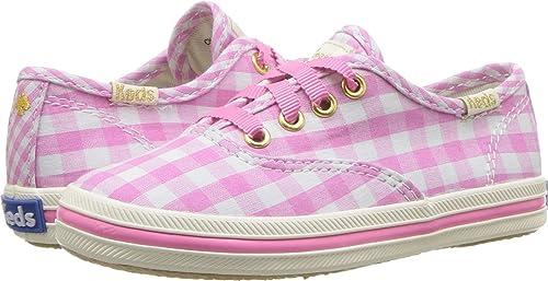 78af2175119 Keds Kids Baby Girl s for Kate Spade Champion Seasonal (Toddler) Pink  Gingham 5 M