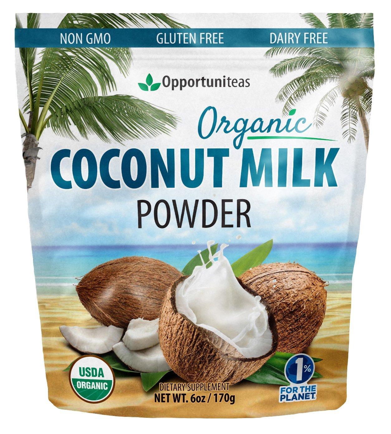Amazon.com: Organic Coconut Milk Powder - Delicious Coffee Creamer ...