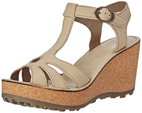 0ee65efd66 Fly London Women s Gold Wedge Sandals  Amazon.co.uk  Shoes   Bags