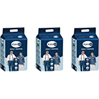 Kare In Adult Diapers - 10 Count (Large, Pack of 3)