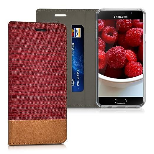 18 opinioni per kwmobile Cover Flip per Samsung Galaxy A3 (2016)- Custodia a libro protettiva