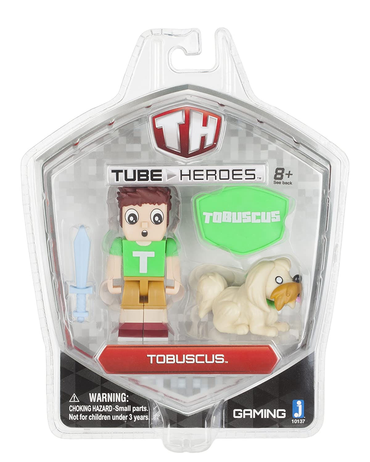 Tube Heroes Tobuscus Figure with Accessories Jazwares Domestic 10137