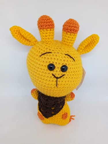 jirafa amigurumi by flak220013 on DeviantArt | 500x375