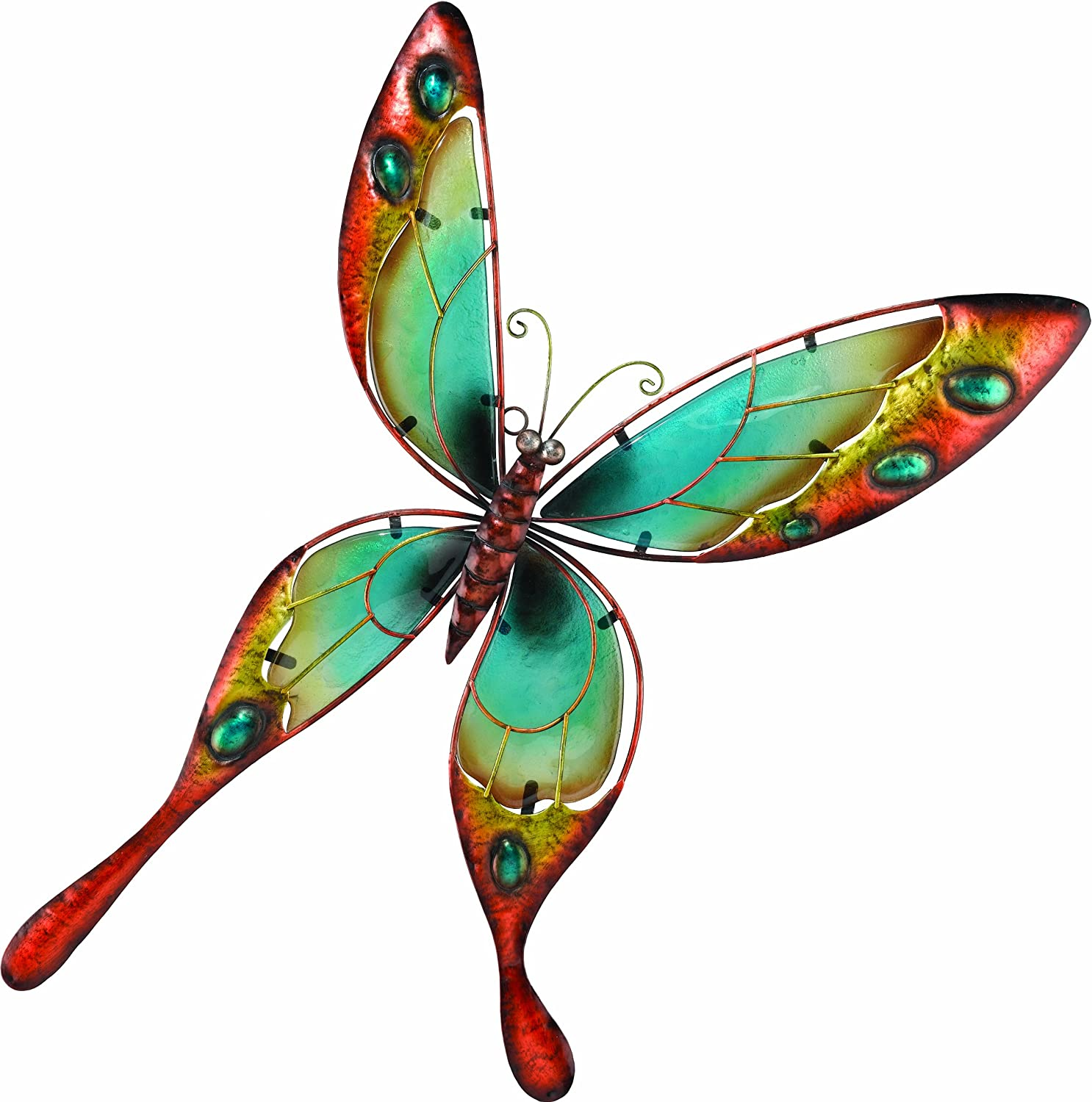 Amazon.com : Regal Art U0026 Gift Butterfly Wall Decor, Blue : Wall Sculptures  : Garden U0026 Outdoor