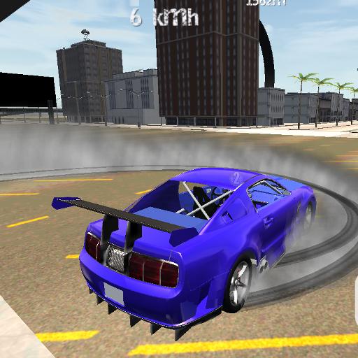 Turbo GT Car Driving Simulator (Stunt System)