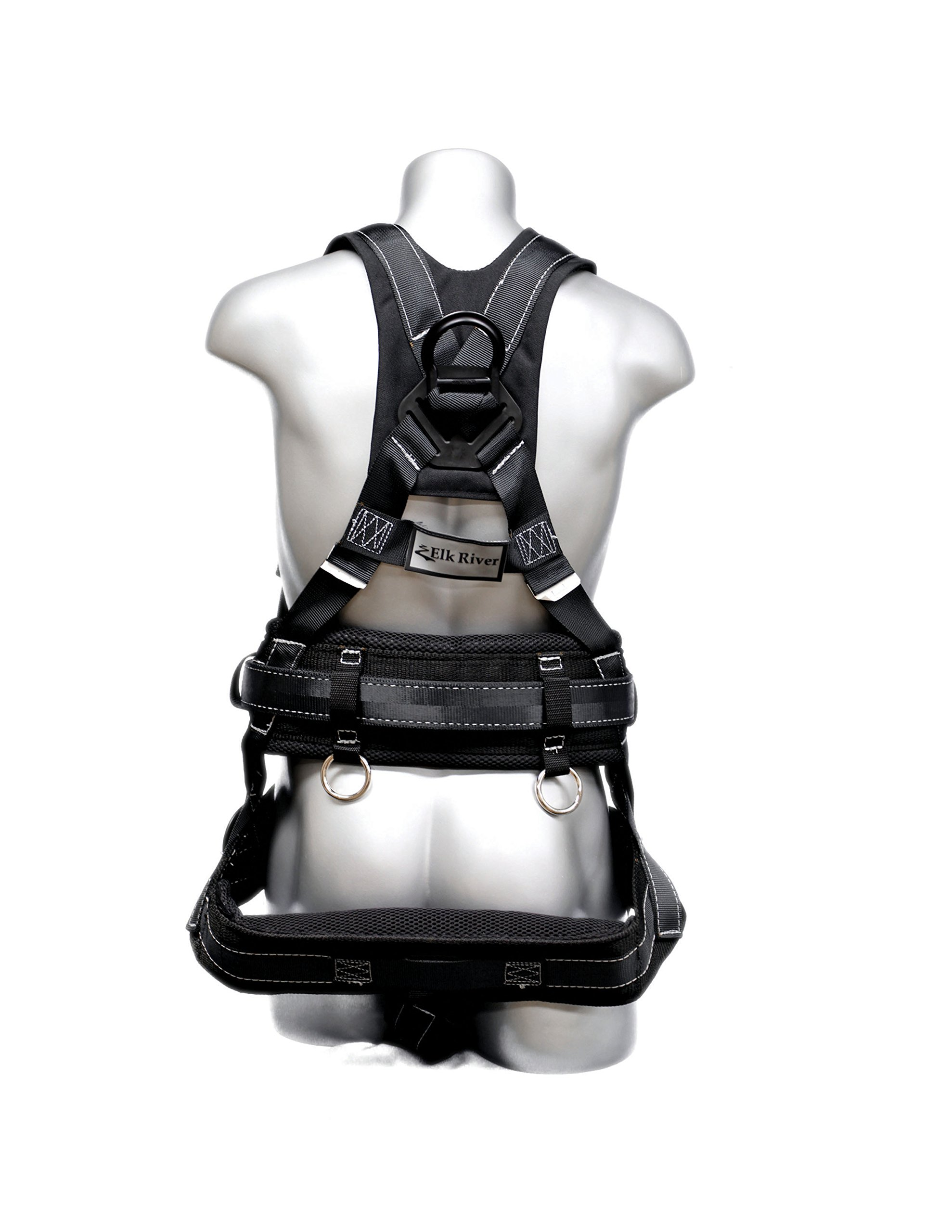 Elk River 67601 Polyester/Nylon Peregrine Platinum Series 6 D-Ring Harness with Quick-Connect Buckles, Small by Elk River (Image #2)