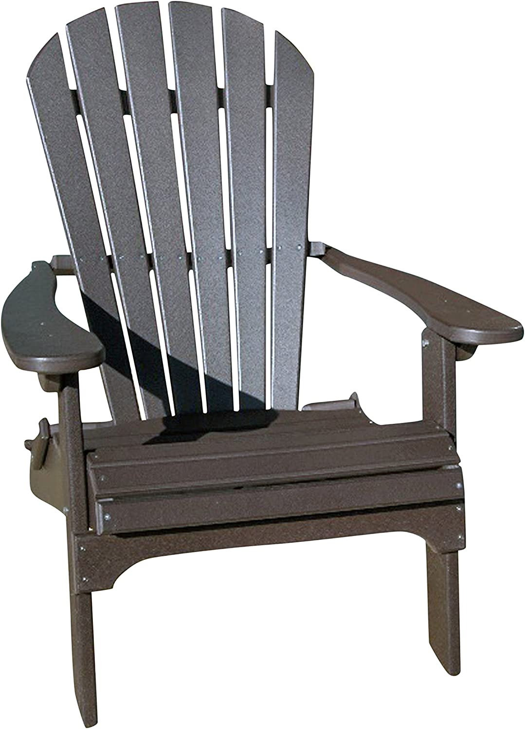 Phat Tommy Recycled Poly Resin Folding Adirondack Chair – Durable and Eco-Friendly Armchair. This Patio Furniture is Great for Your Lawn, Garden, Swimming Pool, Deck. : Garden & Outdoor