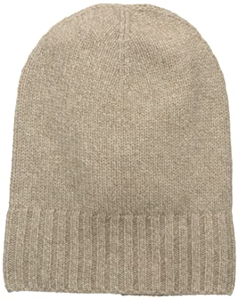95e6f28bb7 Amazon.com  Hat Attack Women s Cashmere Slouchy Hat Taupe One Size ...