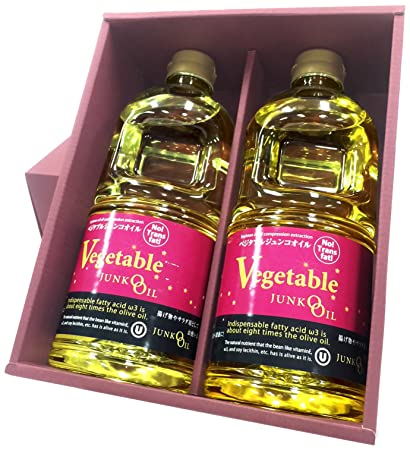 Amazoncom Edible Oil Vegetable Junkooil Gift Set Grocery