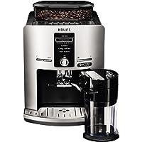 Krups EA82FE Cafetière (autonome, entièrement automatique, machine expresso, grains de café, tactile) Argenté 12 tasses 1,7 l