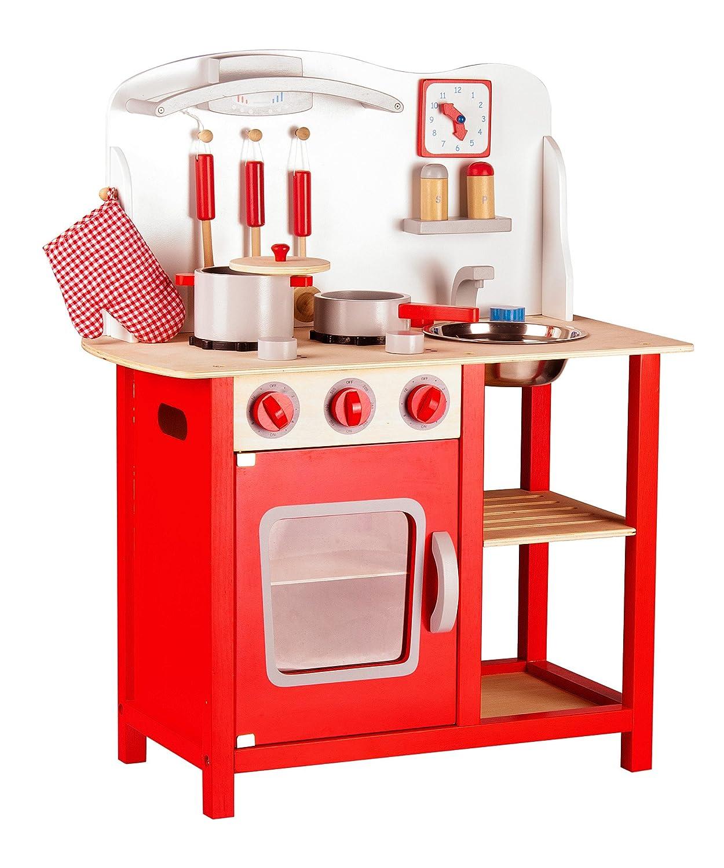 Holz Kinderküche Leomark Classic Spielküche