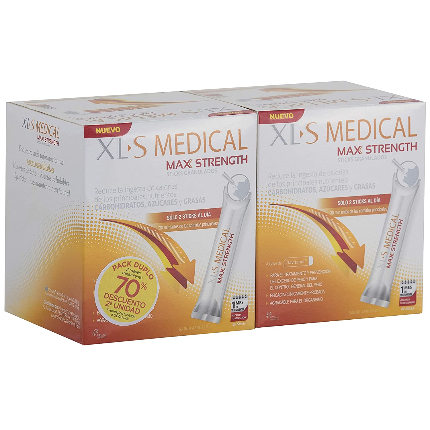 Xls medical max strength stick opiniones