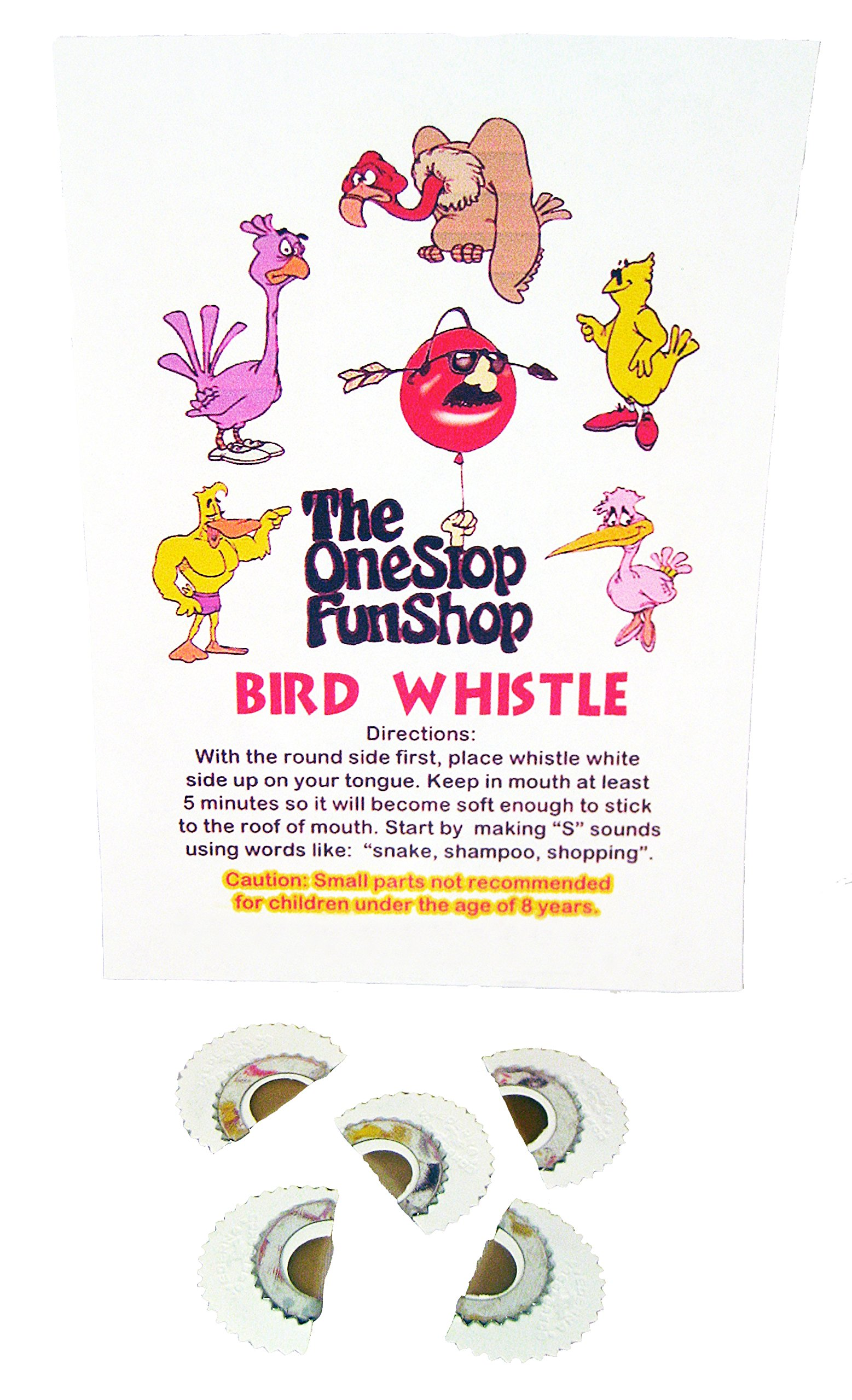 Bird Whistle (5 Pack) by The One Stop Fun Shop