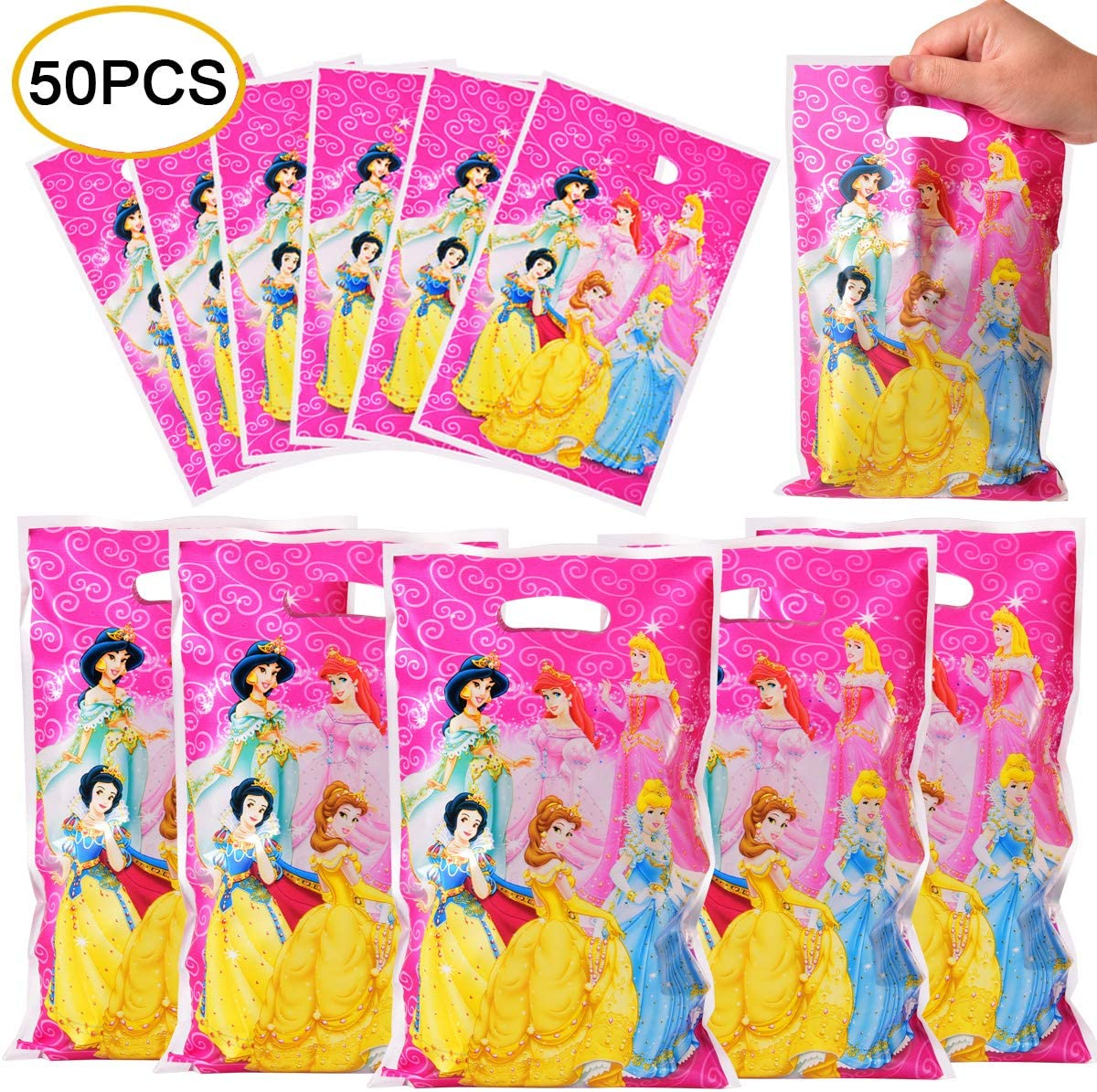 Disney Princess Favor Bags for 30 Guests and Up