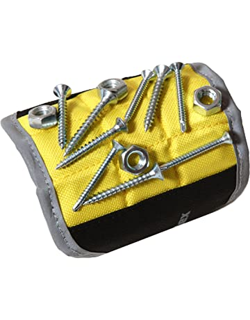 Magnelex Magnetic Wristband for Holding Tools, Screws, Nails, Bolts, Drilling Bits. Unique Gift for Men, Father/Dad, Husband, Boyfriend, Handyman. Gift for Christmas. Unique Gift Idea