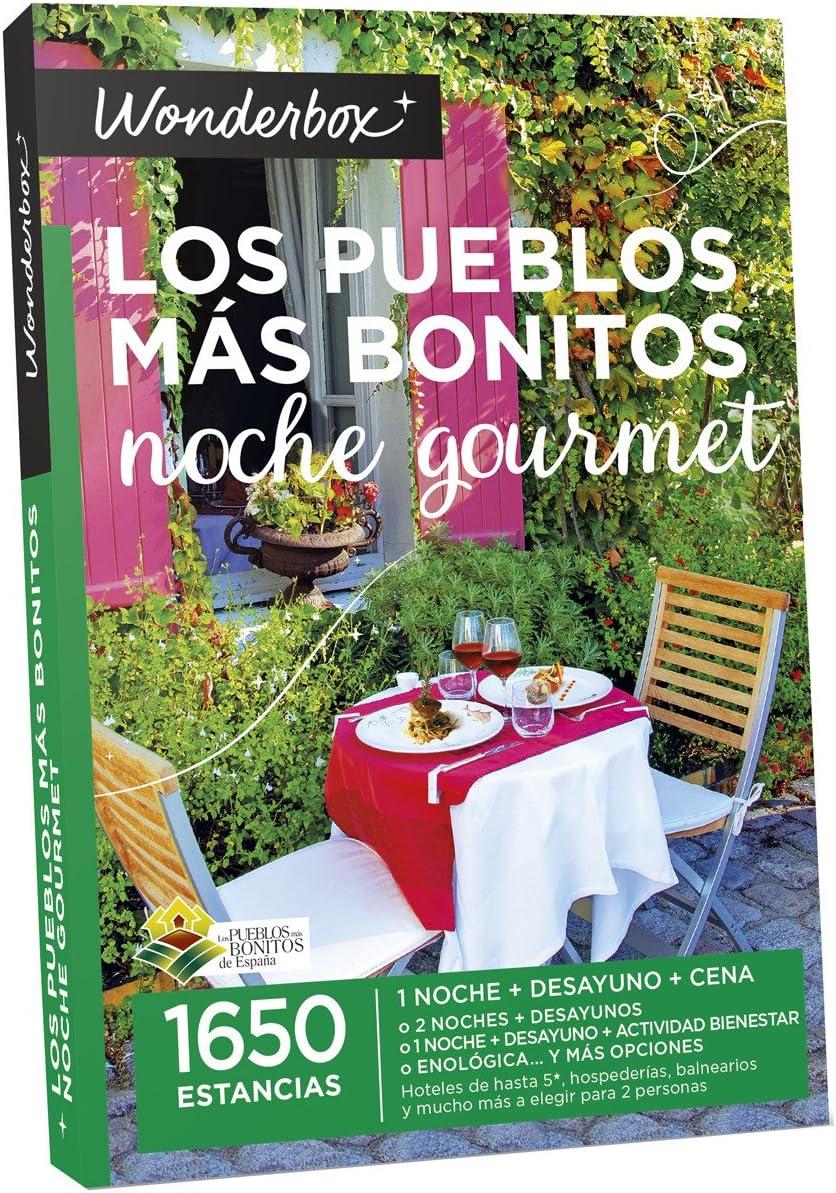 Caja Regalo Estancia Gastronómica Los Pueblos Más Bonitos Noche ...