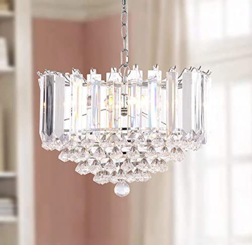 Safavieh Collection Hampton 2 Light 16.5″ Glass Pendant