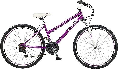 Coyote Miami FS - Bicicleta para Mujer, 15 in, Color Negro: Amazon ...