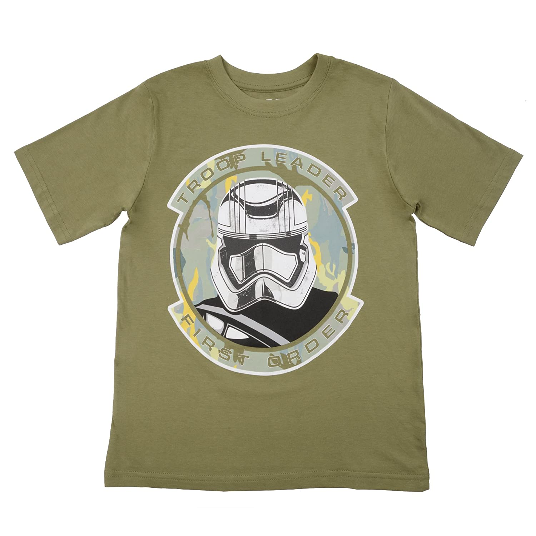 Disney Star Wars Little Boys' Storm Trooper Squad T-Shirt