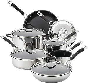 Circulon Acclaim Hard-Anodized Non-stick 13-Piece Cookware Set
