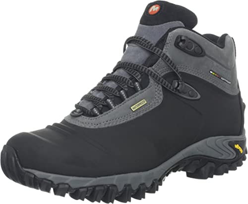Merrell Thermo Freeze Mid Wp Mens Boots Walking Boot Black All Sizes