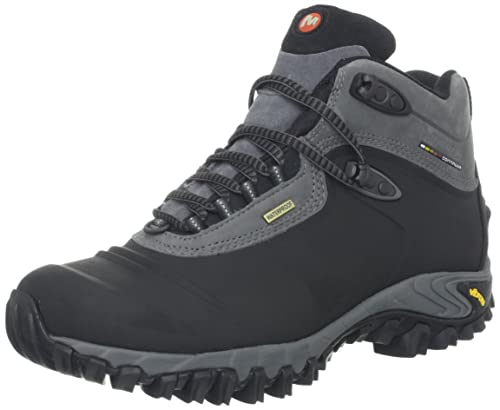 Merrell Chameleon Thermo 6 Waterproof Synthetic Men s 8.5 - Black df1ca94adf9