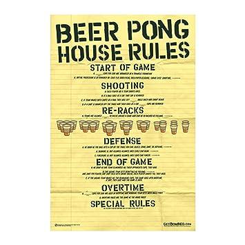 simple beer pong rules