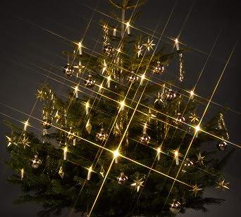 Qvc Weihnachtsbeleuchtung Kabellos.Trango Tg340146 24x Led Weihnachtskerzen Mit Stecksystem Innenbereich Warm Weiß