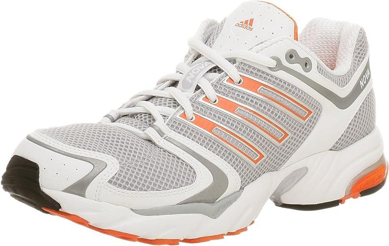 adidas Men's Nova Cushion Running Shoe,Light Onyx/Met Silver,14 M ...