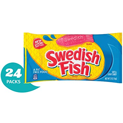 Swedish Fish Dulce suave y masticable: Amazon.com: Grocery ...