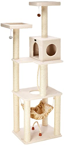 70-Inch Armarkat Cat tree Furniture Condo