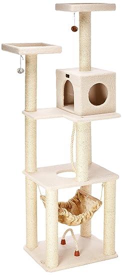 Armarkat gato árbol muebles condominio, altura -70-inch a (190,5: Amazon.es: Productos para mascotas