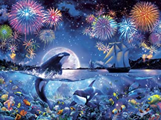 product image for Buffalo Games - The Dramatic Night - 1000 Piece Jigsaw Puzzle