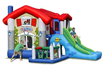 Inflable The Big House 9515 Happy Hop: Amazon.es: Juguetes y juegos