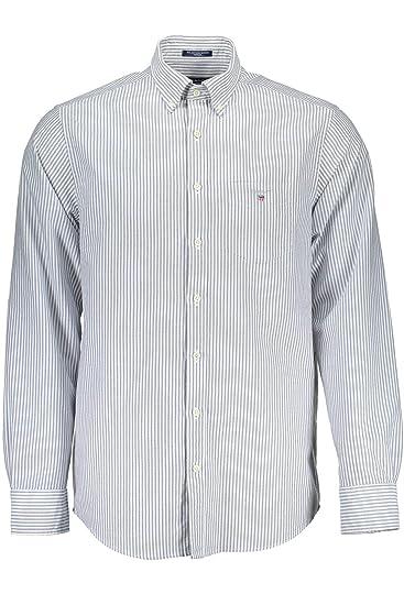 GANT 1803.3056700 - Camisa de Manga Larga para Hombre Bleu 423 3XL ...