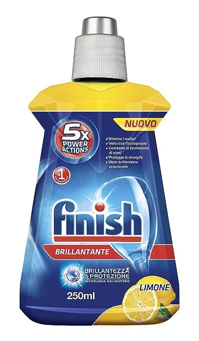 19 opinioni per Finish- Brillantante al Limone- 4 flaconi da 250 ml [1 l]
