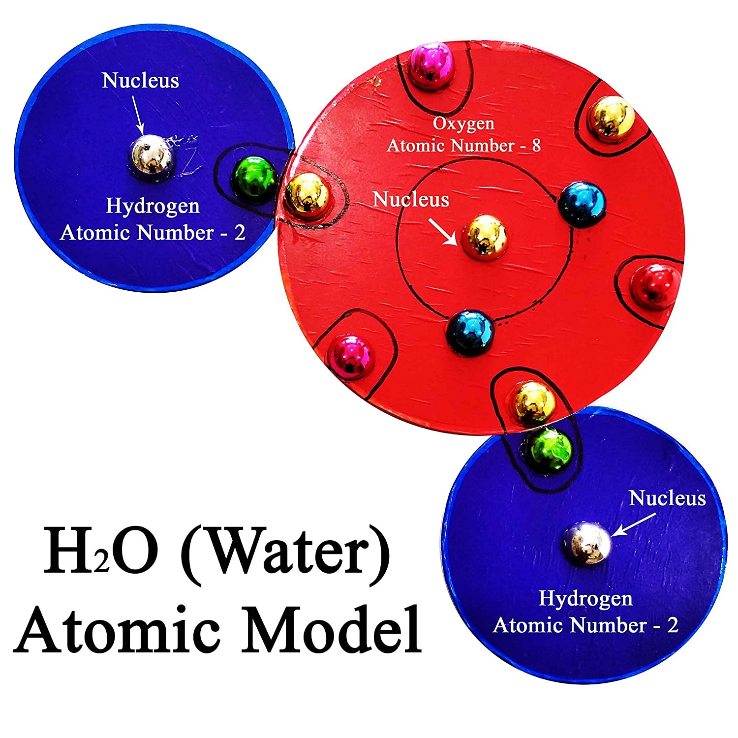 H2o Water Atomic Working Model Office Products Oxygen Atom Diagram Atoms