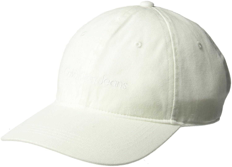 1e7930b816d Calvin Klein Jeans Men s Embroidered Logo Baseball Dad Hat