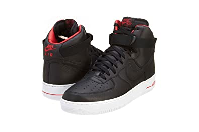 timeless design 618fd a5ca6 Nike Air Force 1 Hi Lebron James Premium Mens Basketball Shoes 386161-009  Black 9