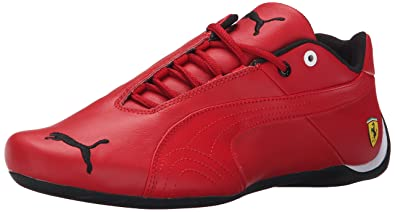 PUMA Mens Future Cat Leather SF  Fashion Sneakers Rosso CorsaRosso Combo