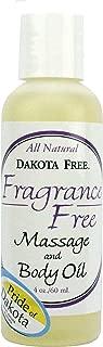 product image for Dakota Free Fragrance Free Massage and Body Oil 4 oz